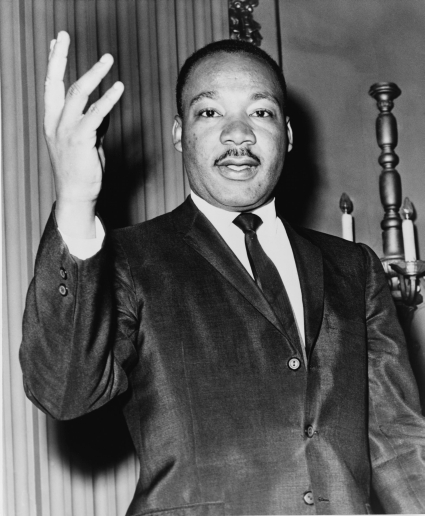 Martin Luther King, Jr. - photograph taken in 1964.