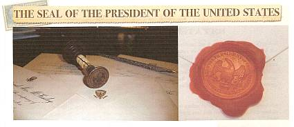 The U. S. President's Flag and Seal