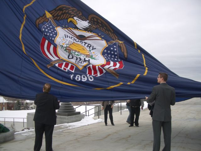 New Glory for an Old Flag: Utah State Flag Day is Official