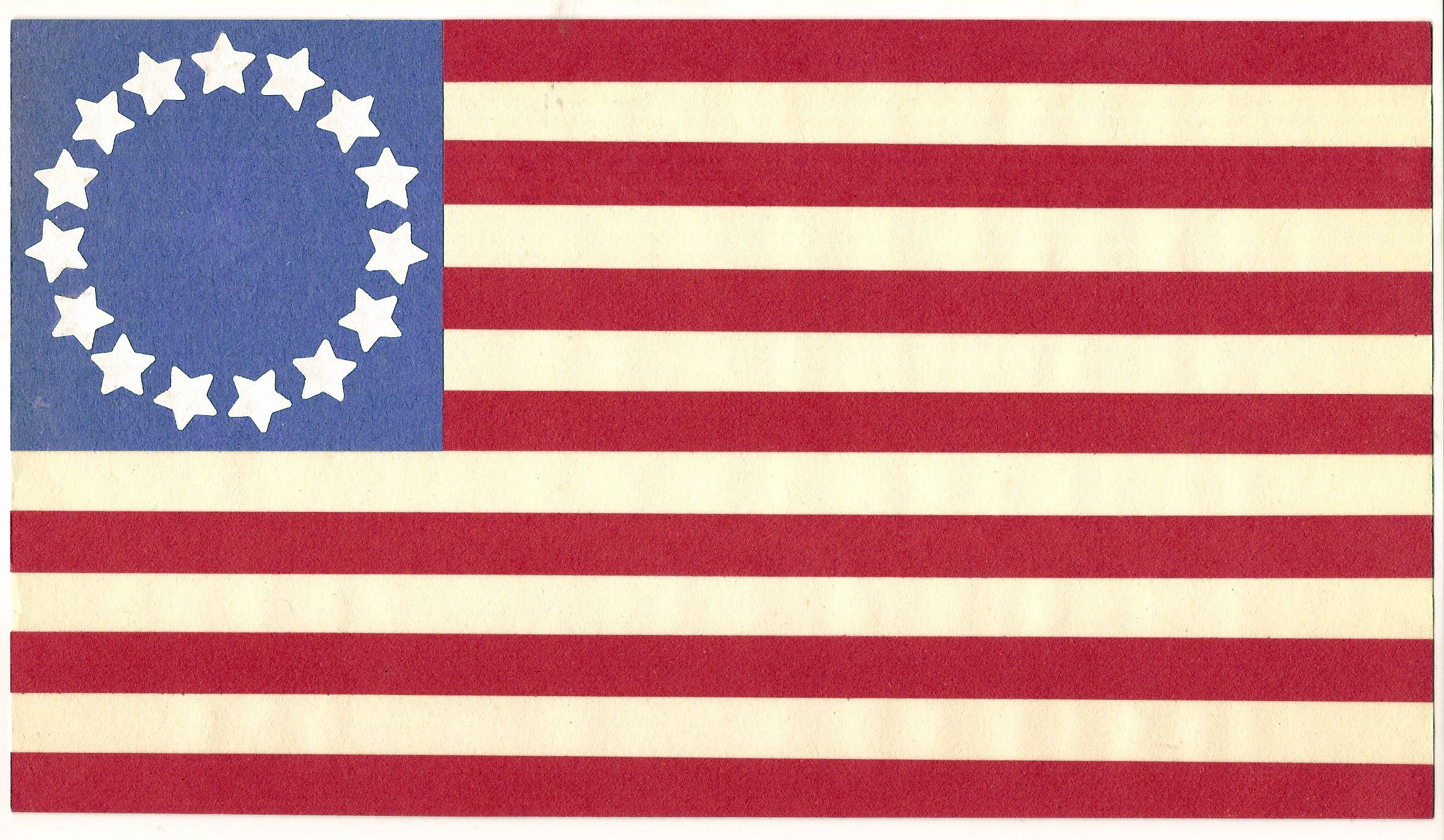 on American Flag 13 Colonies Coloring Page