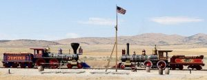 What U.S. Flag Flew Over the Golden Spike Ceremony?